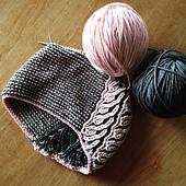 Basic 2-color Brioche Hat